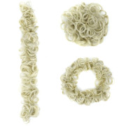 Messy Curly Hair for tuber # 613 - Blond