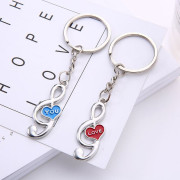Music Couple Keychains - KC-12