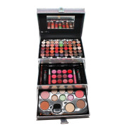Miss Young Makeup Kit Box - Silver Holographic