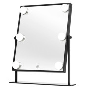 UNIQ Cosmetic mirror with light and touch function - black