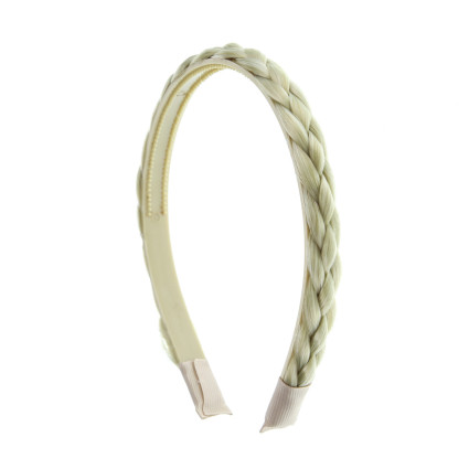 Faux head band twisted hair - many colors