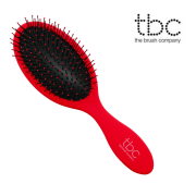 TBC® The Wet & Dry Hair Brush - Strawberry Red