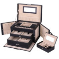 Avery XL Jewelry Box with 20 compartments - Black