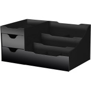 Organizer for makeup & skincare products - Black