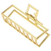 SOHO Square Hair Claw Large - Gold