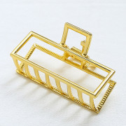 SOHO Square Hair Claw Small - Gold