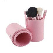 Makeup Brushes - 12 pcs - pink