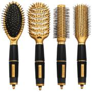 Hairbrush Set Gold Edition - Salon Professional - Perfect Gift