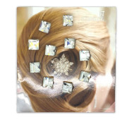 Hair Crystals / Hair Diamonds 10 Pieces