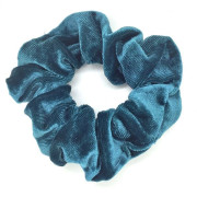 Scrunchie Hair Tie - Dark Mint