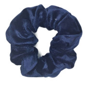 Scrunchie Hair Tie - Dark Blue