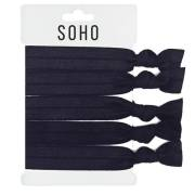 SOHO® Hair Ties no. 17 - ALL BLACK