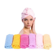 Turbie Turban Twist Hair Towel - For Kids
