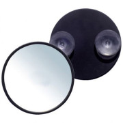 Uniq Makeup Mirror 10X Magnification with Suction - Black