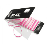 BLAX Snagfree hair elastics 4mm pink 8pcs