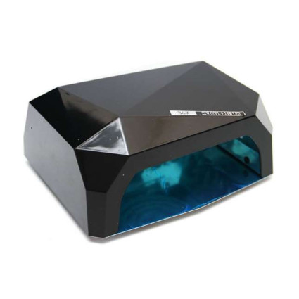 UV Lamp Nail Dryer with LED-Light 36 watt 220v - Black