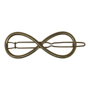SOHO® Eternity Metal Hair Clip - Gold