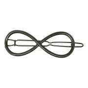 SOHO® Eternity Metal Hair Clip - Silver