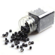 Micro rings Black 500pcs.