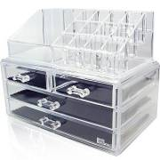 AVERY® Makeup Organizer acrylic with 4 drawers - 1155