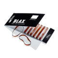BLAX Snagfree hair elastics 4mm Brown 8pcs