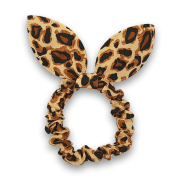 Scrunchie with bow | Leopard
