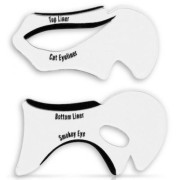 Eyeliner & Eyeshadow stencils - smokey eyes, cat eyes 2 pcs