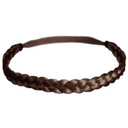 Soho® Braided Headband - Brown