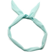 Flexi Headband with wire - turquoise