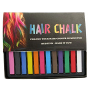 Hair Chalk Package with 12 Pieces