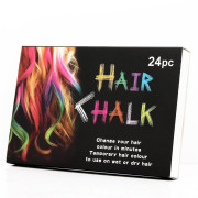 Hair Chalk set of 24 Temporary Hair Chalk