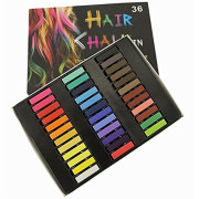 Hair Chalk set of 36 Temporary Hair Chalk