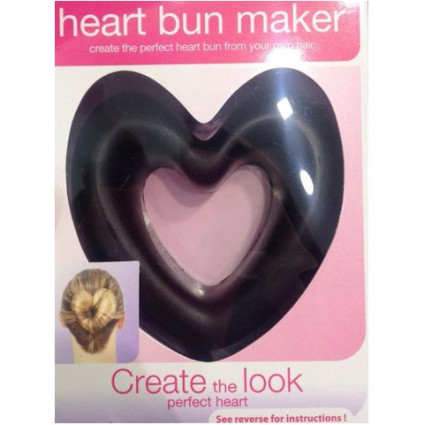 * Hair Donut Love - Hjerte formet