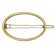 SOHO® Oval Circle Hair Clip - Gold
