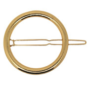 SOHO® Circle Hair Clip - Gold
