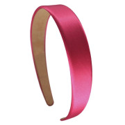 Soho Classic Satin Hair Band, pink