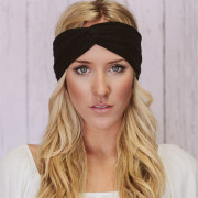 SOHO® Turban Headband, Black