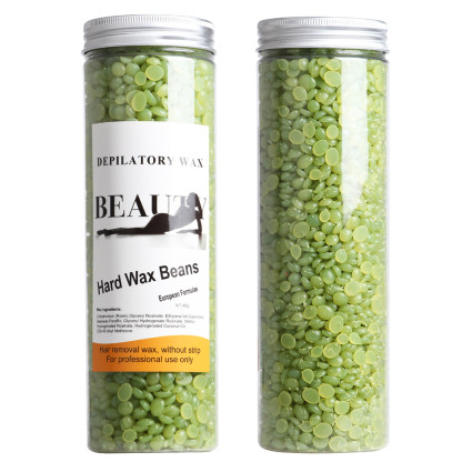 Pearl Wax Hard Wax Beans 400g, Green tea