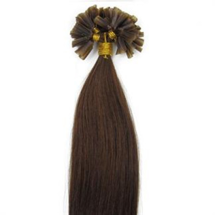 60 cm Hot Fusion Hair extensions 4# Brown