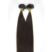 60 cm Hot Fusion Hair extensions 2# Dark Brown