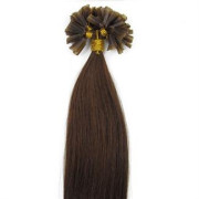 50 cm Hot Fusion Hair extensions 6# Light Brown