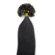 50 cm Hot Fusion Hair extensions 1B# Jet Black