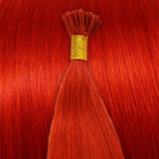 60 cm Cold Fusion hair extensions Total red