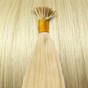 60 cm Cold Fusion hair extensions Platin blonde 60#