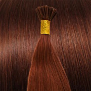 50 cm Cold Fusion hair extensions red 33#