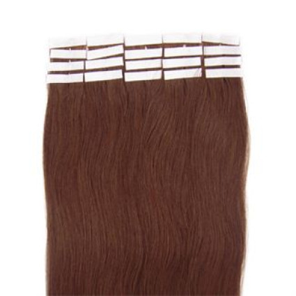 50 cm tape on extensions Light Brown 6#