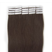 60 cm tape on Extensions Dark Brown 2#
