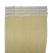 50 cm tape on extensions Platin blonde 60#