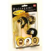 Hairagami 2pack (black + leopard)