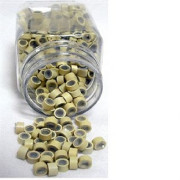 Micro rings Blonde 500 pcs